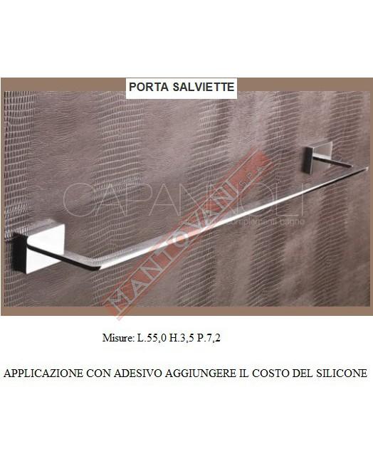 Accessori Bagno Capannoli Prezzi.Mantovani Spa Capannoli Flat Porta Salviette 55 Adesivo
