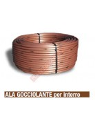 RAIN BIRD ALA GOCCIOLANTE INTERRO COPPER SHIELD XFS-33-100 2.3 l h DRIPLINE INT.33CM 100MT