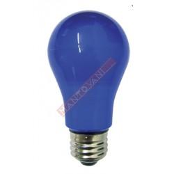 Mantovani spa lampadina led goccia blu e27 6 w 230v for Lampadina led blu