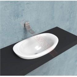 Ceramica Flaminia Serie Io.Mantovani Spa Flaminia Lavabo Io Cm 75 Incasso Bianco