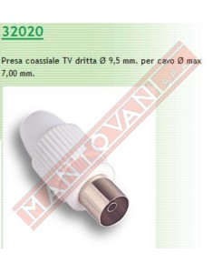 Fme presa coassiale diametro 9,5 mm