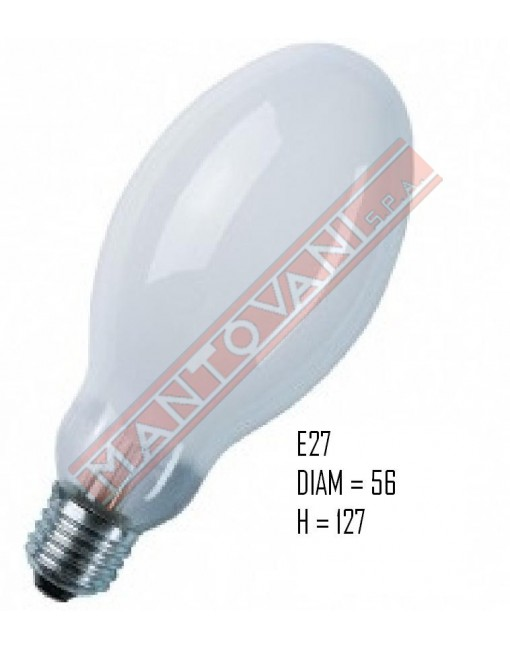 LAMPADINA GENERAL ELECTRIC MERCURIO H 50W