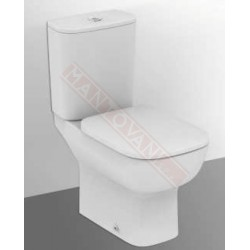 Mantovani spa ideal standard esedra wc a terra per for Sedile wc ideal standard esedra