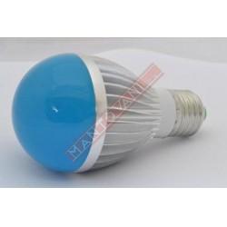 Mantovani spa lampada 220v led e27 blu lampadina for Lampadina led blu