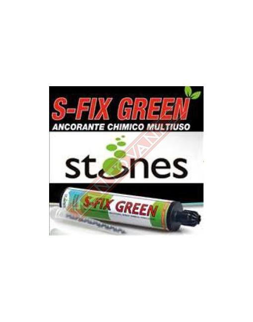 STONES S FIX GREEN ANCORANTE CHIMICO + 1 MIXER