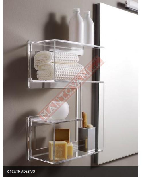 Accessori adesivi in plexiglass per il bagno TL.BATH